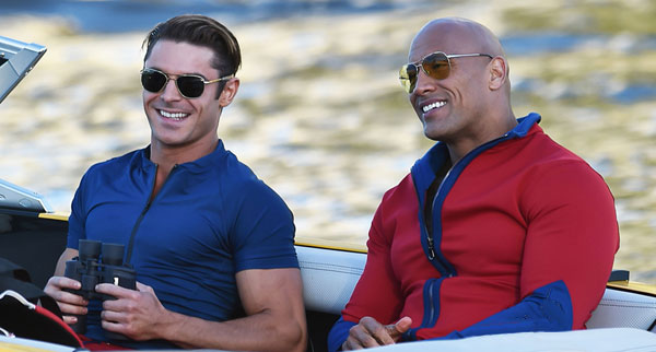 Zac Efron And The Rock In Baywatch