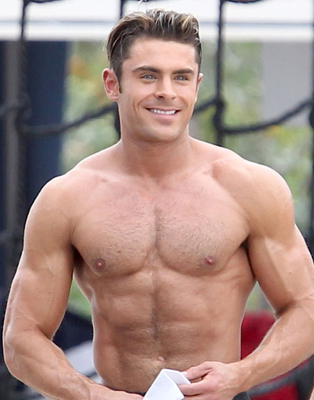 Zac Efron Transformation