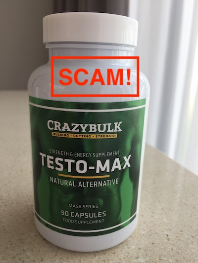 CrazyBulk TestoMax